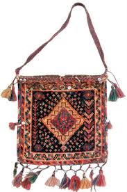 Chantehs is woven carpet-like shoulder bags