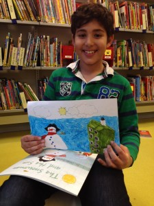 Yousef, one of the winners