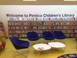 The event was held at Pimlico children's library