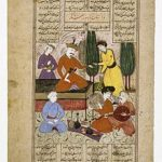 an extract of an old issue of Shahnameh
