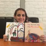 Marjan Vafaian, illustrator of Bijan & Manije and The Parrot and the Merchant