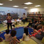Story and craft event with Nahid Kazemi in London