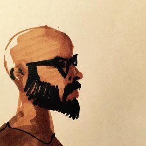 Ehsan Abdollahi's self portrait