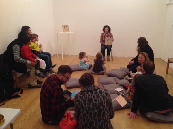 Storytelling at Fruitmarket Gallery