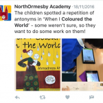 A fantastic piece of work by North Ormesby Primary Academy!