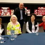 'Write Around the World' FCBG Conference: Jill Coleman (BookTrust), Anna McQuinn (Alanna Books), Roy Johnson (Kids Gloves), Delaram Ghanimifard (Tiny Owl) and Greet Pauwelijn (Book Island)