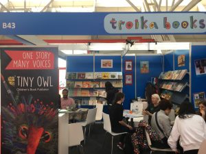 Our stand at Bologna Book Fair
