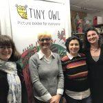 Fiona Barker and the Tiny Owl team