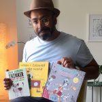 Ehsan Abdollahi, this year's illustrator in residence for Edinburgh International Book Festival