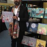 illustrator Ehsan Abdollahi at Edinburgh Book Festival