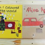 Wonderful reviews for When I Coloured in The World and Alive Again