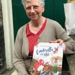 Beverley with her book Cinderella of the Nile