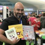 Illustrator Ehsan Abdollahi at Edinburgh International Book Festival!