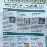 Grobblechops picked by the Metro as a top book for Easter!