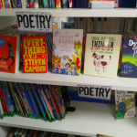 Thinker with the other books shortlisted for the CLiPPA